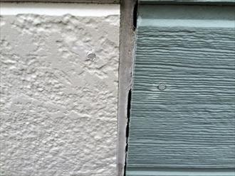 外壁との隙間ができてしまったシーリング