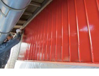 トタン外壁の塗装