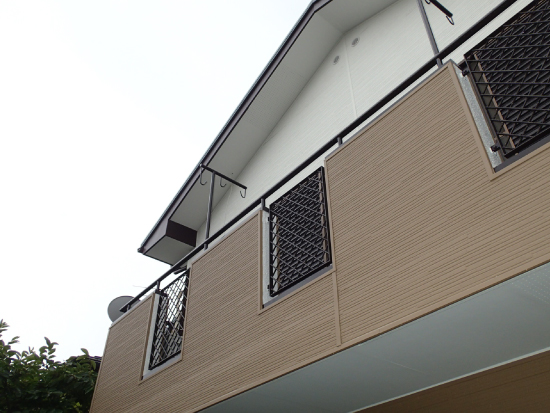 外壁カバー工法竣工