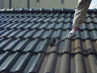 セメント瓦屋根への屋根塗装塗り替え