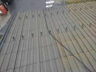 屋根塗装、高圧洗浄