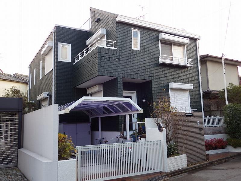 積水ハウスのお住まいをフッ素塗料で外壁塗装施工後