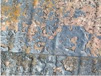 塗膜が劣化した外壁