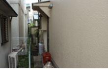シリコン塗料で塗られたお住まいの外壁