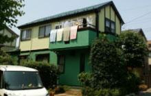 アクリル100%(ピュアクリル)塗料で塗装されたお住まいの外観